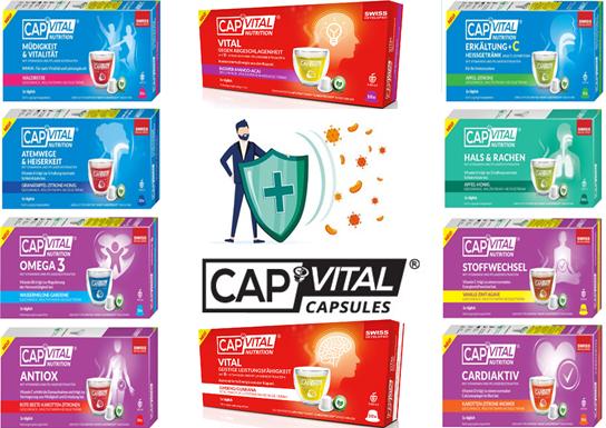 Capvital Anti-Viren Multivitamin Heissgetränk XXXL Selection Box