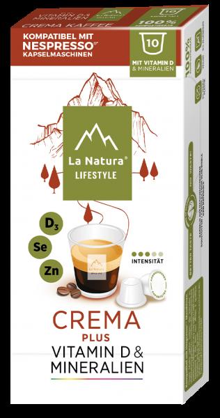 La Natura Lifestyle Crema Plus - 10 Kapseln